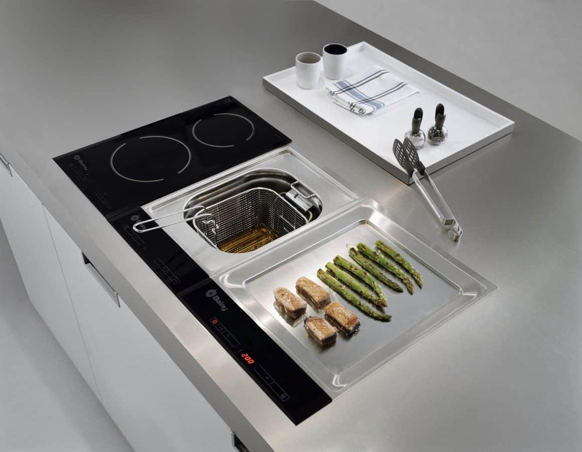 electrodomestico placa de cocina
